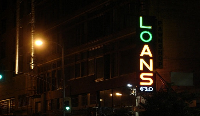 loans with no job or bank account