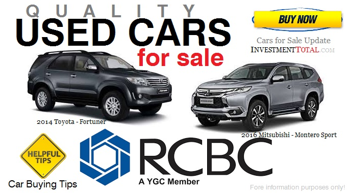 Used Cars Philippines Price List